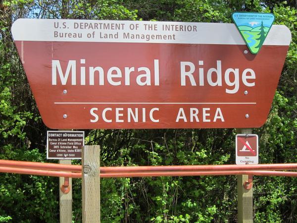 Mineral Ridge Scenic Trail